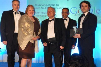 Leigh church wins website accessibility award