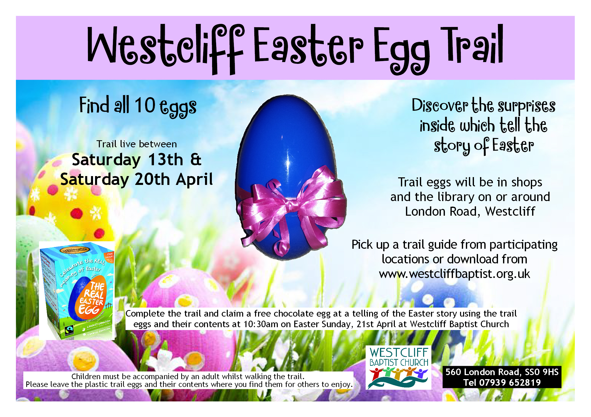 Westcliff Easter Egg Trail
