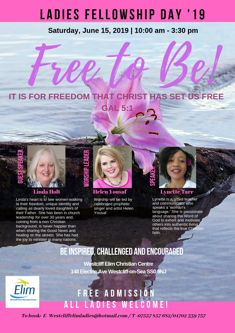 Free To Be – Ladies Fellowship Day