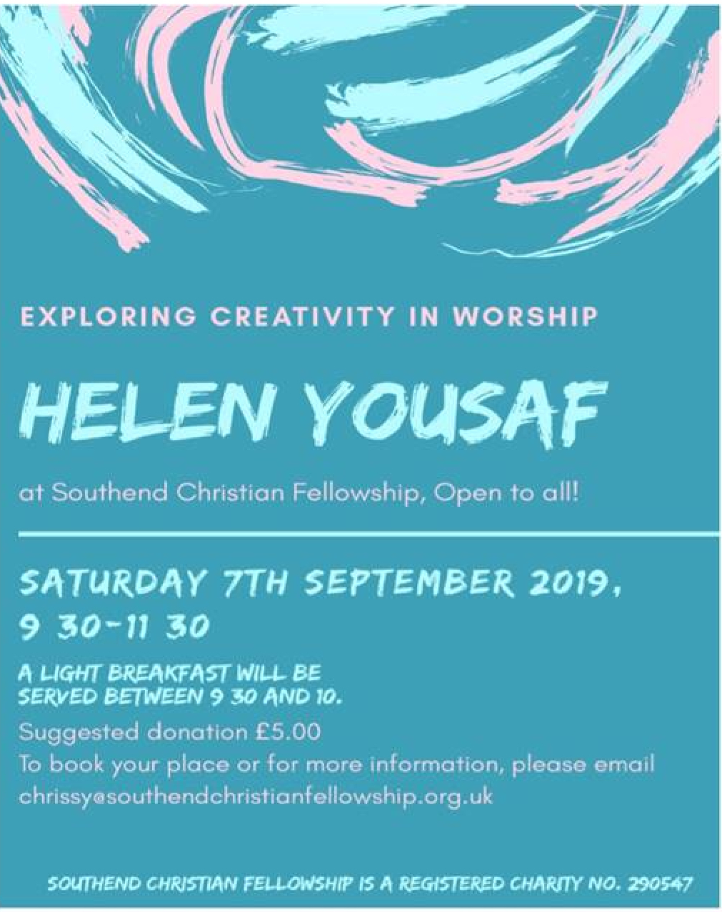 Exploring Creativity in Worship with Helen Yousaf