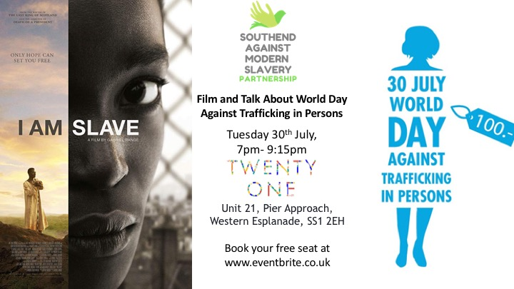 Film: I am Slave. To remember the World Day Against Trafficking in Persons