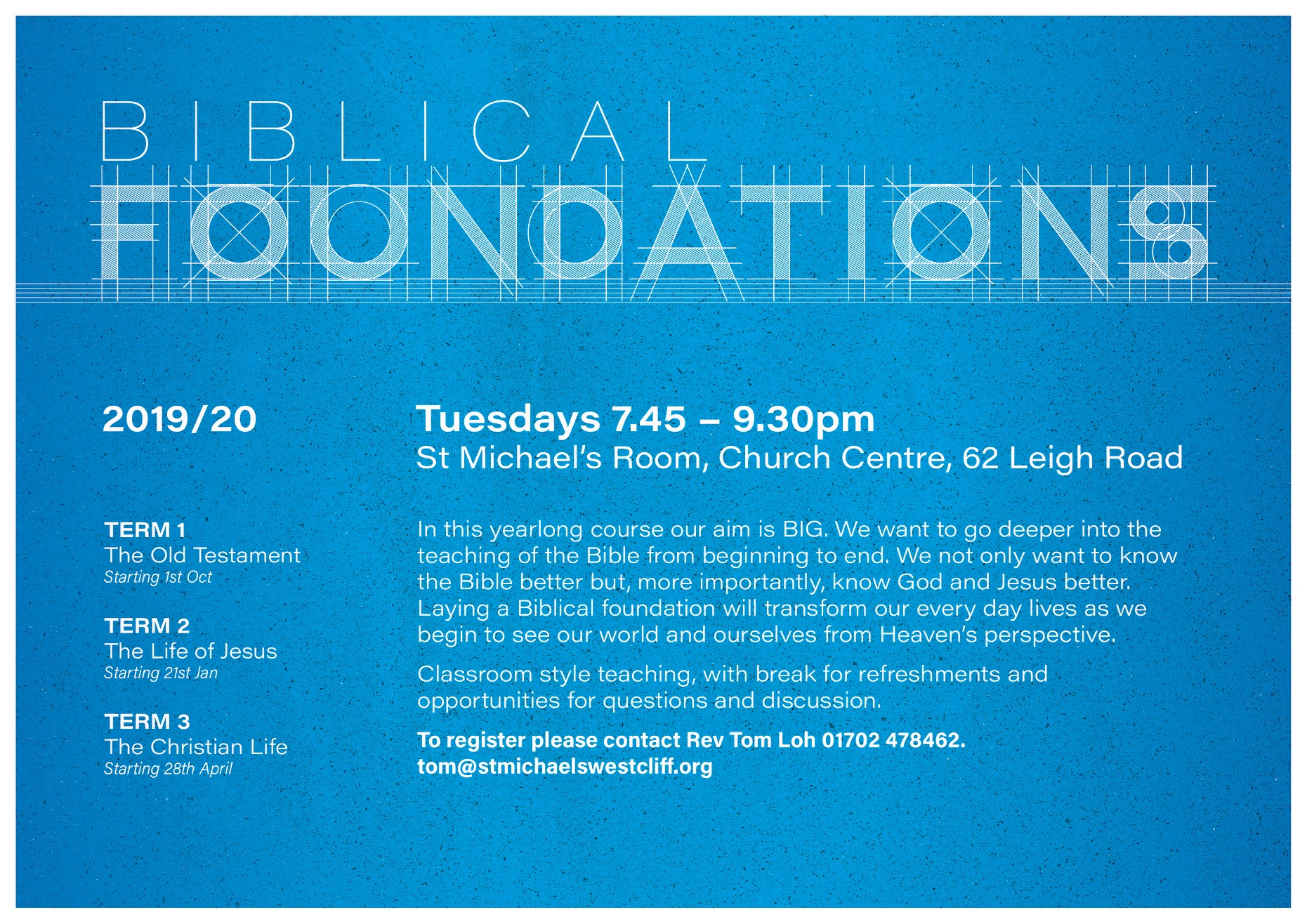 Biblical Foundations Course
