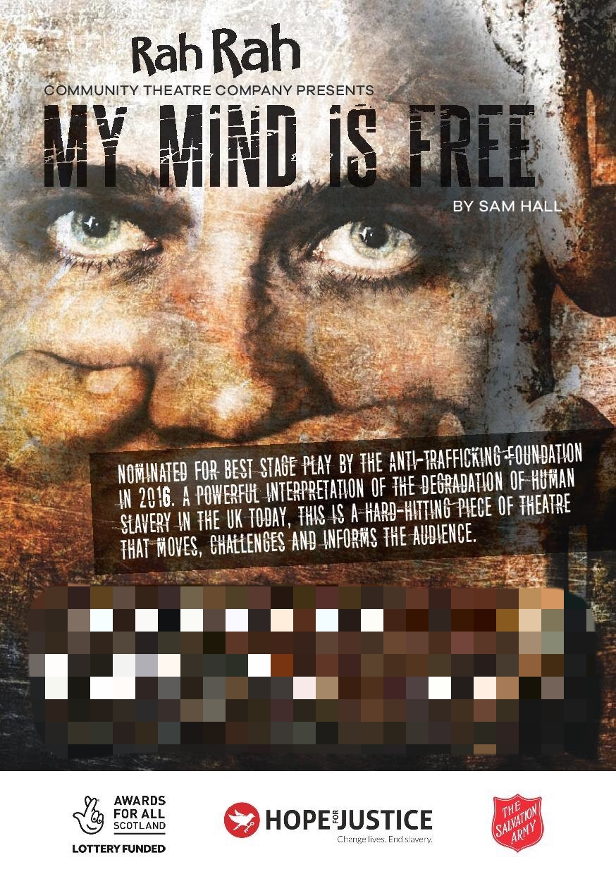 'My Mind is Free' a play by Rah Rah Community Theatre Community