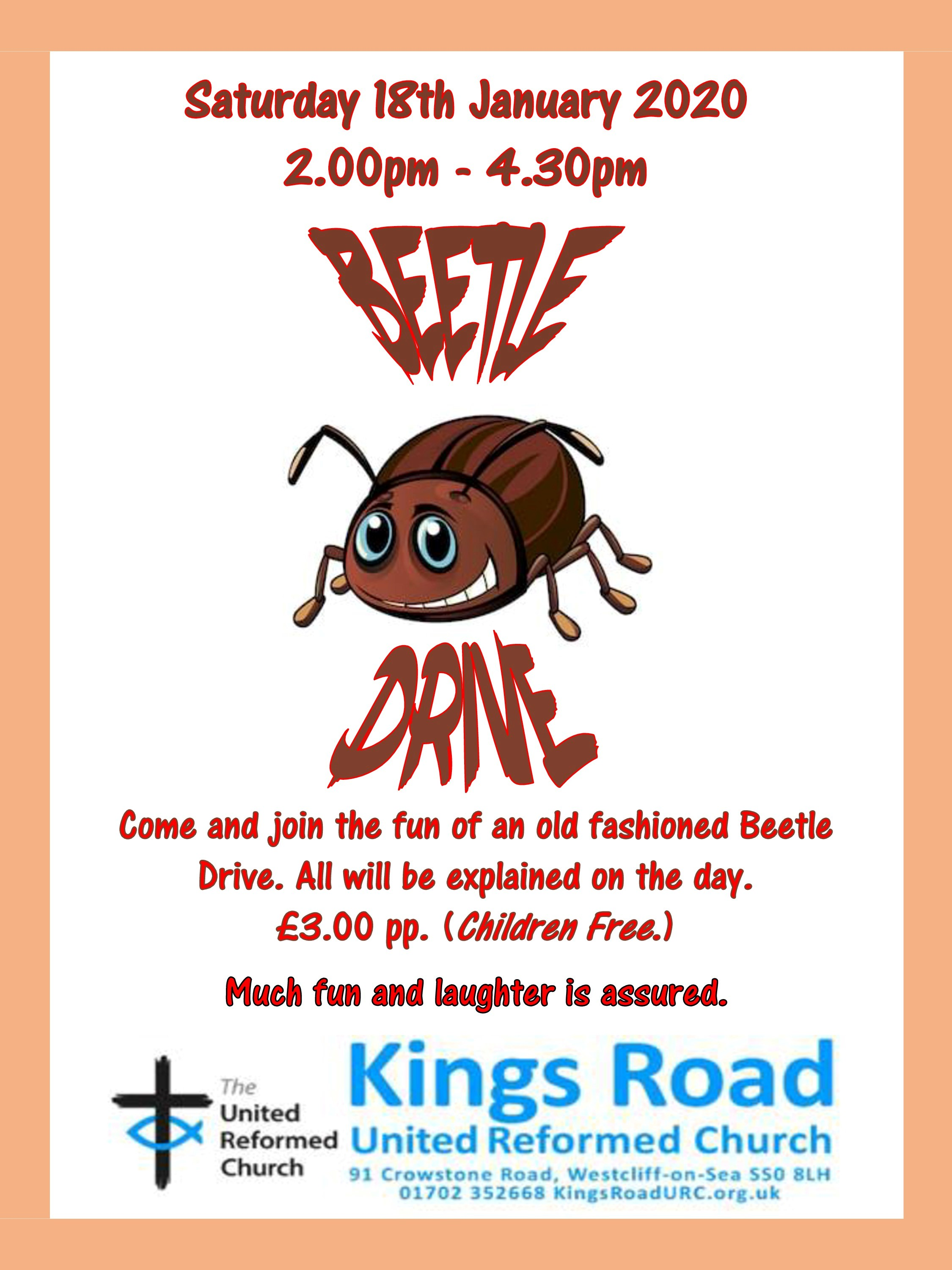 Beetle Drive with Kings Road URC