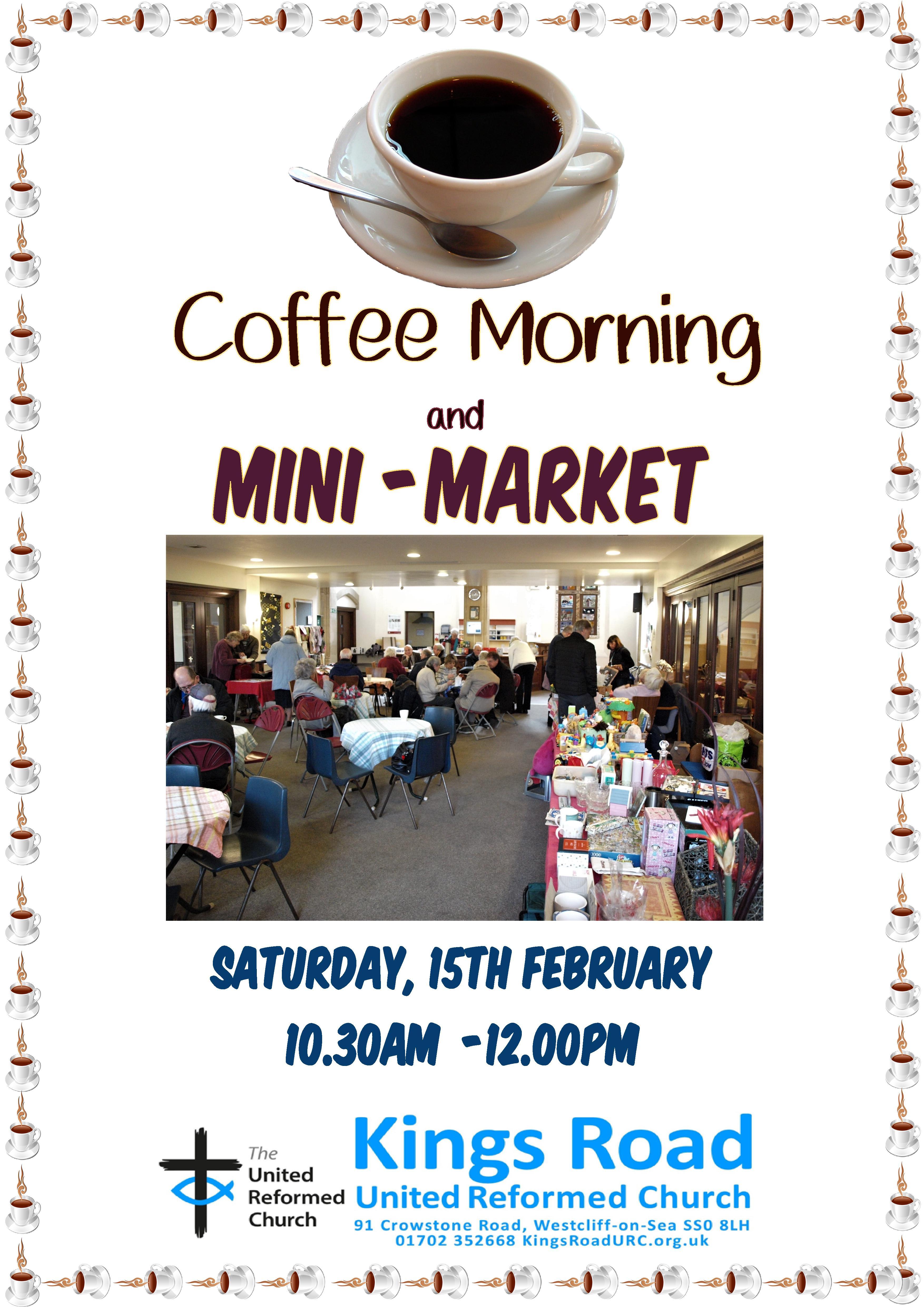 Coffee Morning and Mini Market