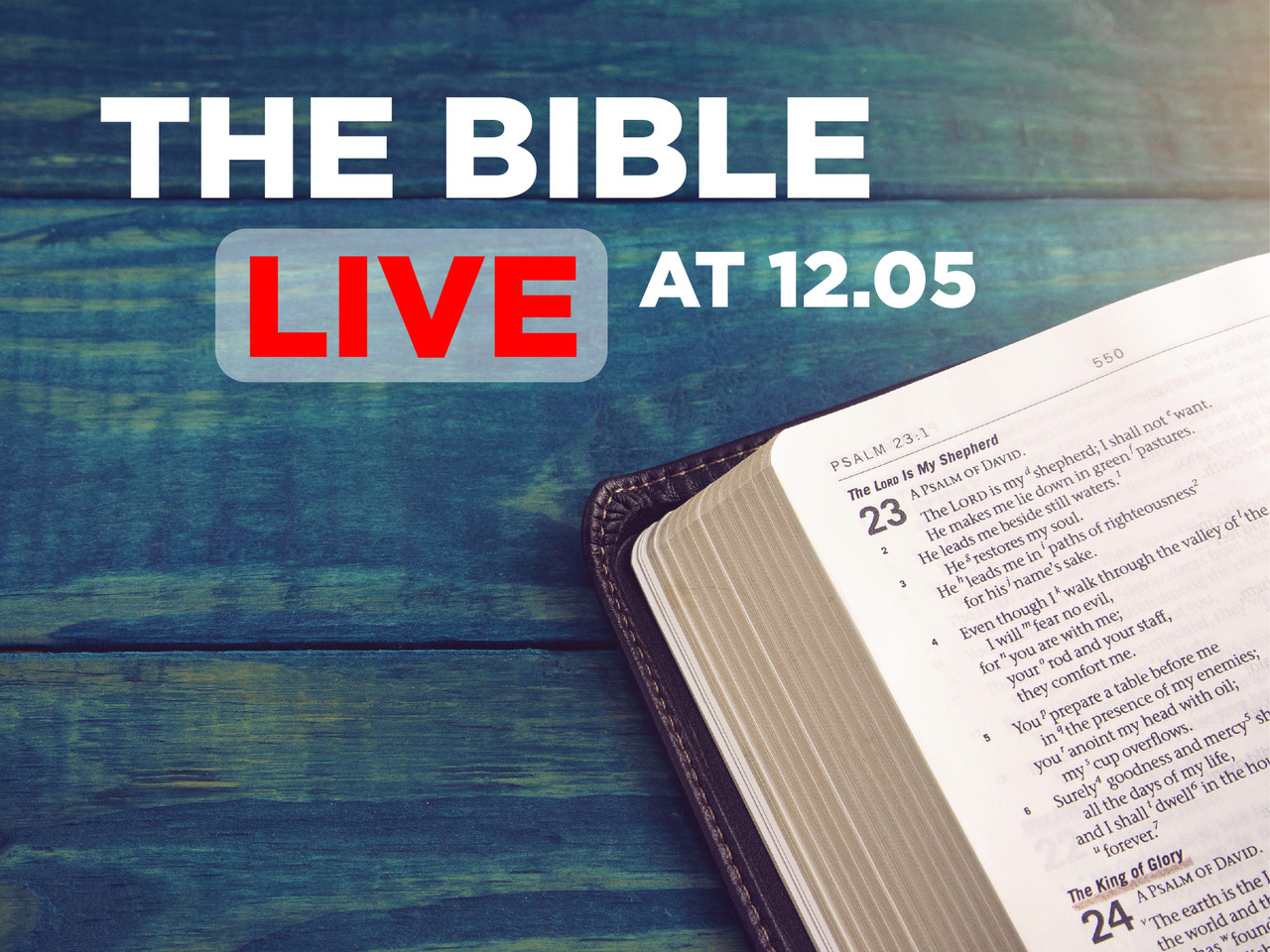 St Michael & All Angels, Westcliff-on-Sea: The Bible Live at 12.05