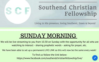 Sunday Morning Online with Southend Christian Fellowship