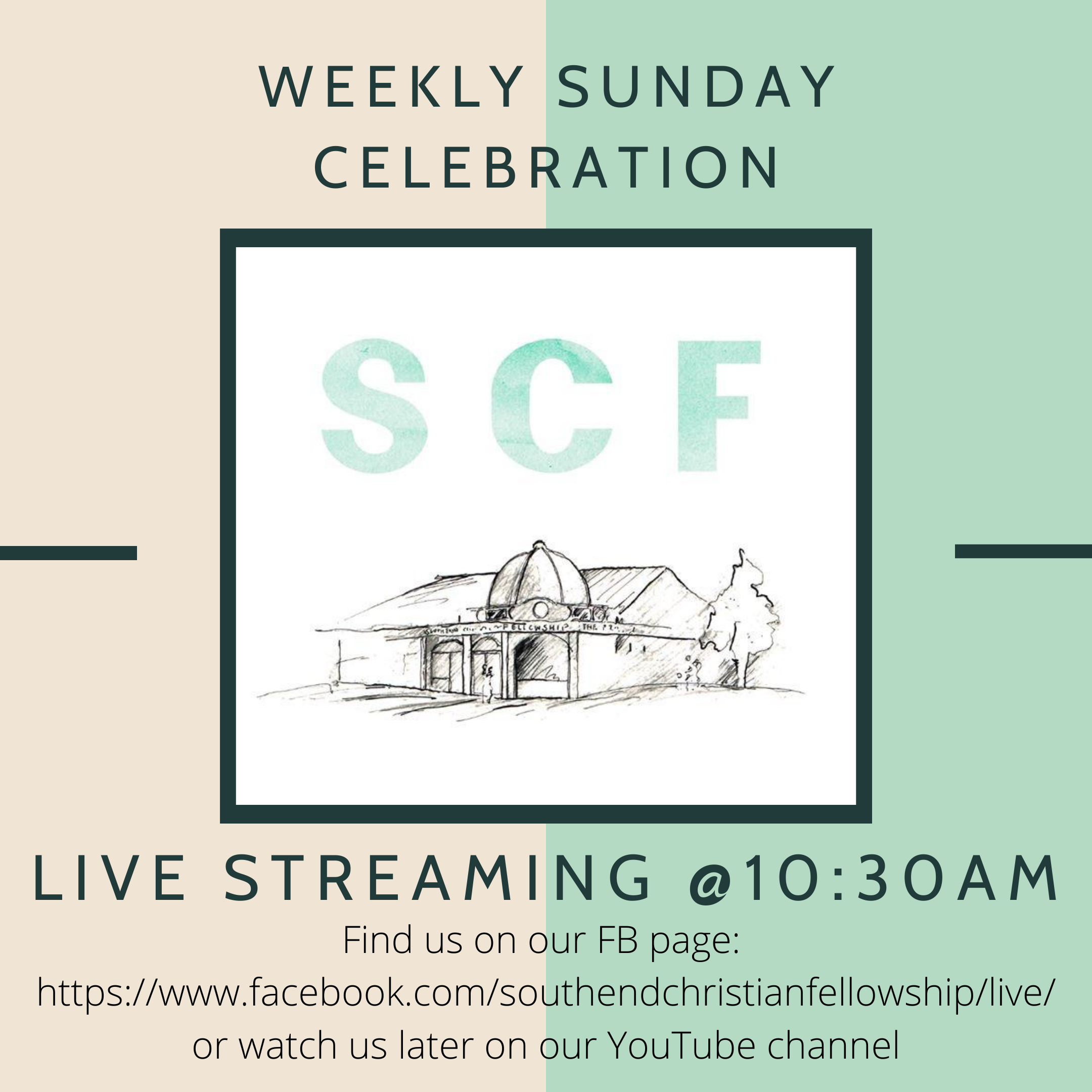 Southend Christian Fellowship Sunday Celebration Live Stream