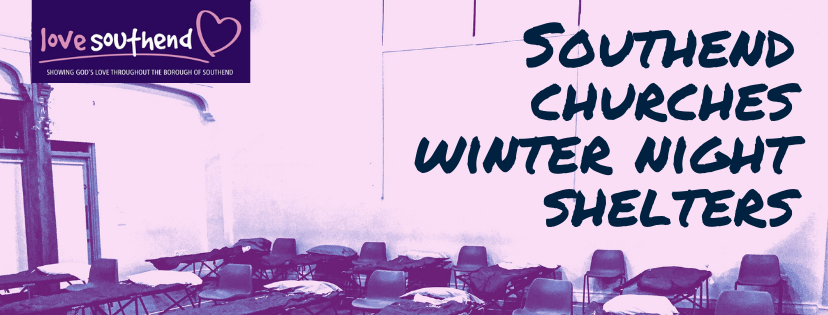 Southend Churches Winter Night Shelters Plans For The 2020/21 Winter