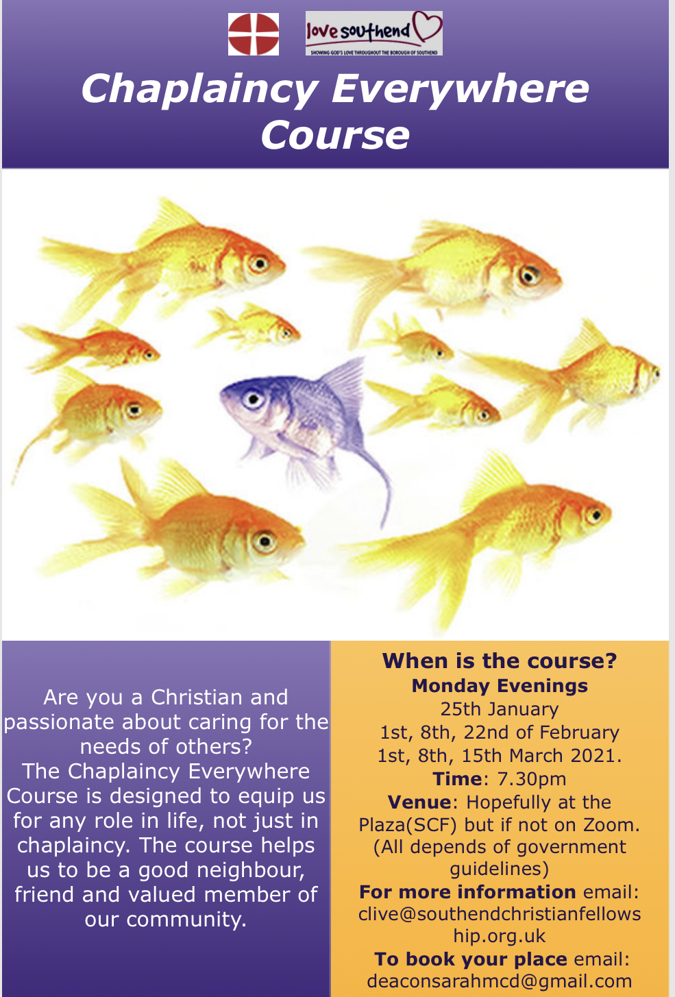 Are you interested in the Chaplaincy Everywhere Course?