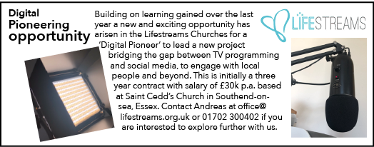Digital Pioneer Job Opportunity with Lifestreams