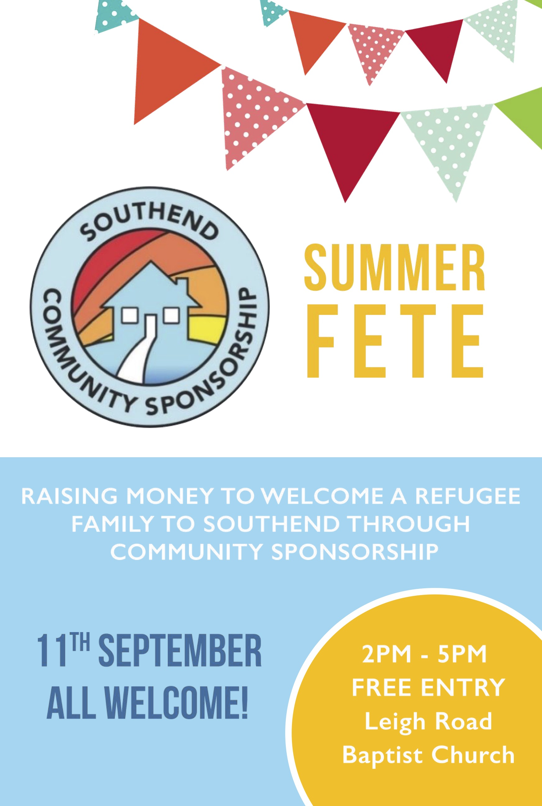Fete for Refugee Support in Southend